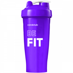 Shaker Coral Club Be fit 600 ml lila