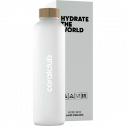 """Hydrate the World"" üvegkulacs, 500 ml"